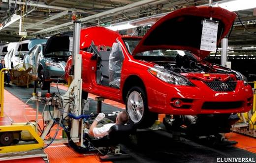 Production in four car manufacturers was zero in May (File photo)