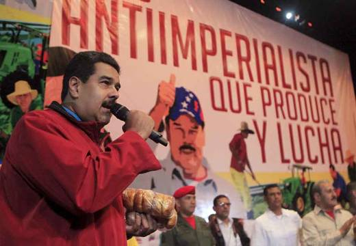 """The Venezuelan president claimed a group of fugitives is undermining the Venezuelan economy by hosting a website called """"Dólar Today"""" (Reuters)"""
