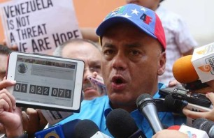 Jorge Rodríguez, one of the authors of the Tascón list, is spearheading the latest petition drive. (Bachaconews)