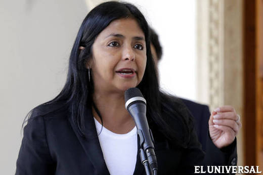 Foreign Affairs Minister Delcy Rodríguez has sent several communiqués to Exxon Mobil (AVN)