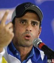 Miranda state governor Henrique Capriles said inflation in the country exceeded 20% last month