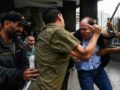 """Colectivos"""", the Chavista equivalent of the Nazi Brown Shirts, attacked Congressman Julio Borges on June 9. (Twitter)"""