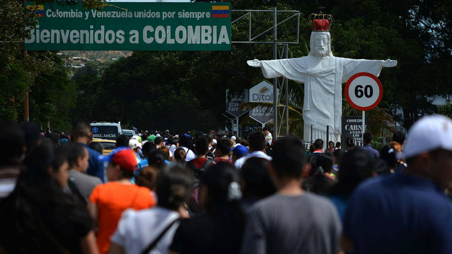 Venezuelan and Colombian authorities discussed the final opening of the border