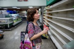 The diary of a desperate mother trying to put on the kitchen table in Venezuela.