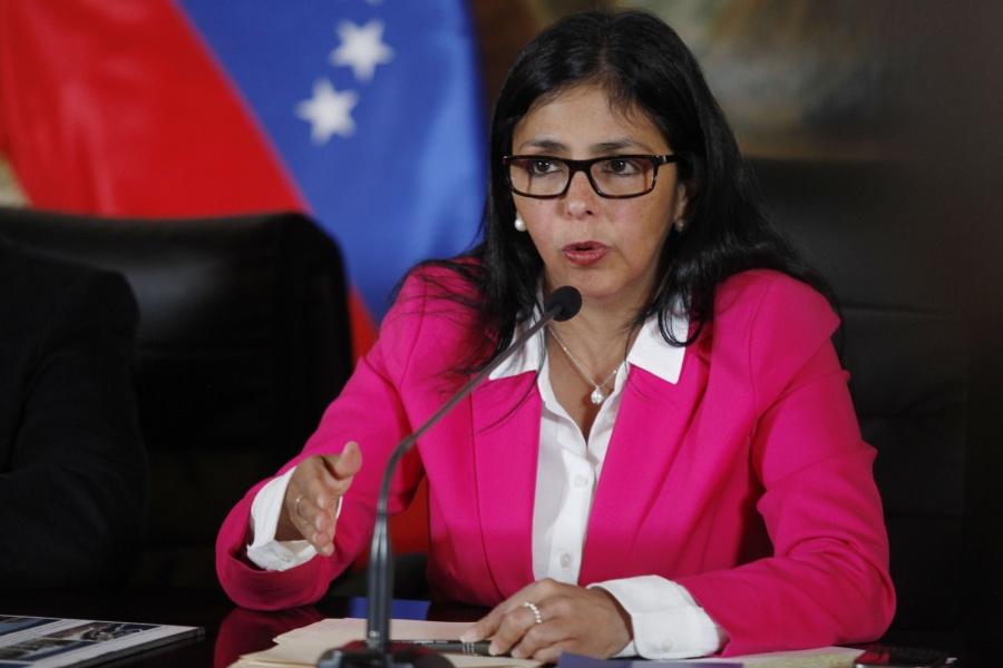 Venezuelan Foreign Minister Delcy Rodriguez