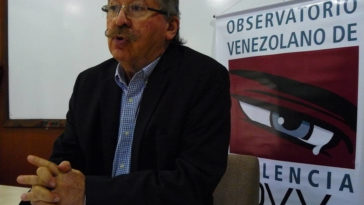 The head of the Venezuelan Violence Watch (OVV), Roberto Briceño León, said that while there is a trend to claim that violence is related to poverty, killings in Venezuela hiked during the years when the country was better off economically speaking